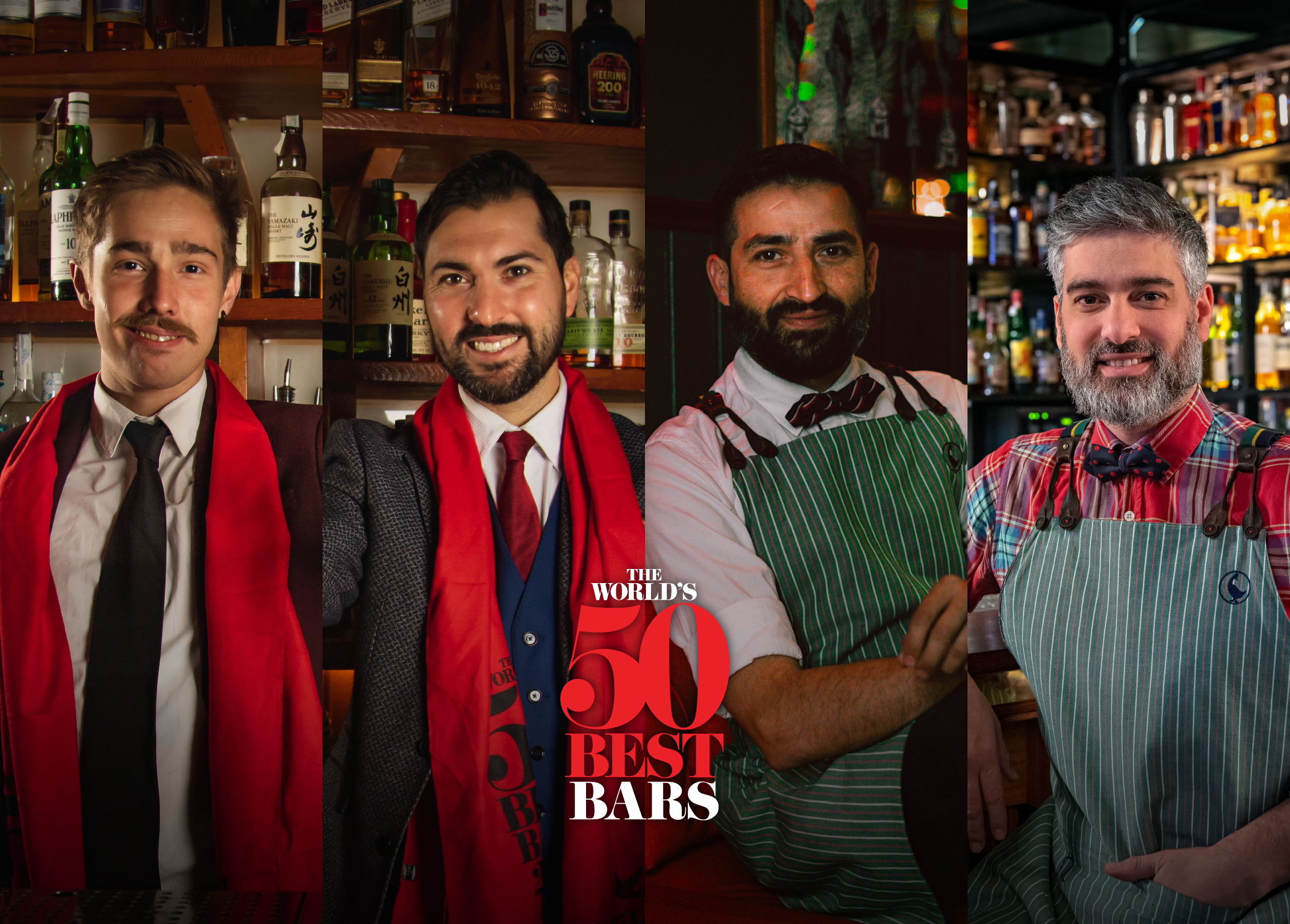 Campari Academy - Portada Gala 50 Best Bars 2020
